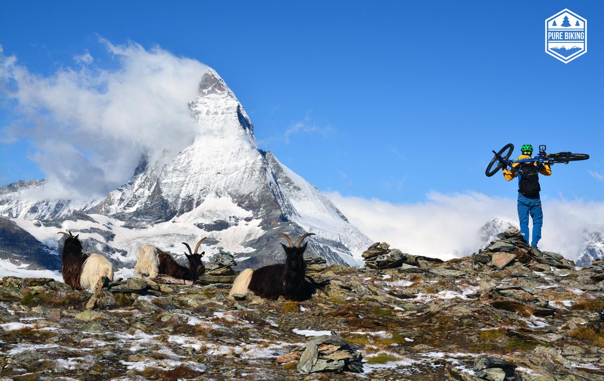 Auf Trailsuche in der Schweiz